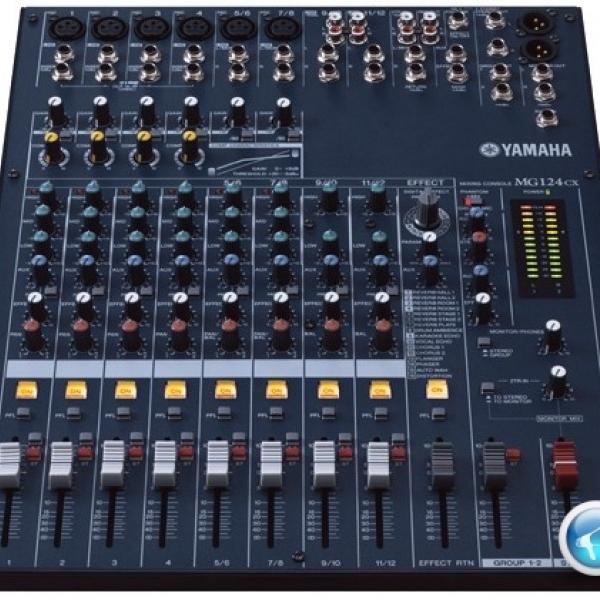 Bàn trộn Mixer MG124CX Yamaha âm thanh chuyên nghiệp