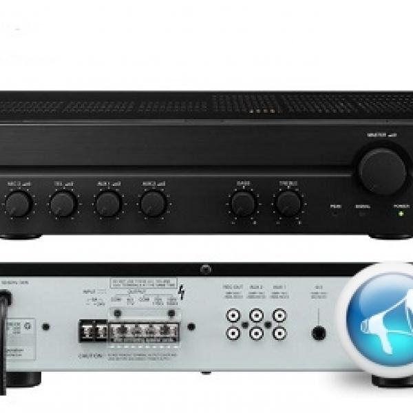 Amply - Tăng âm truyền thanh liền mixer A 2060 chính hãng