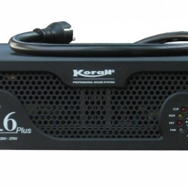 Cục đẩy công suất K6 Plus chính hãng, chất lượng chuẩn, âm thanh mạnh mẽ