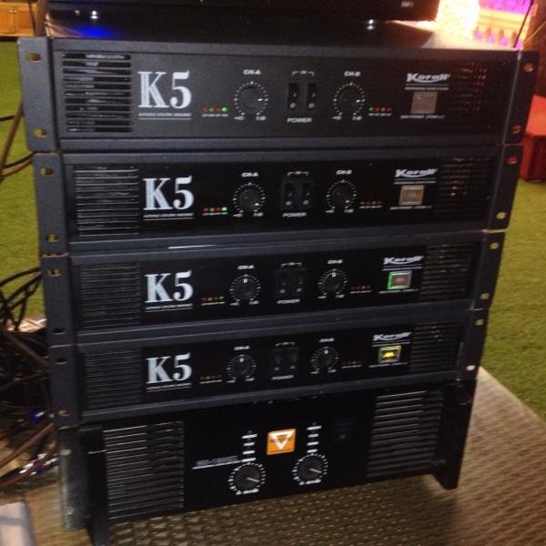 Cục đẩy công suất K5 kiến tạo chất lượng âm thanh