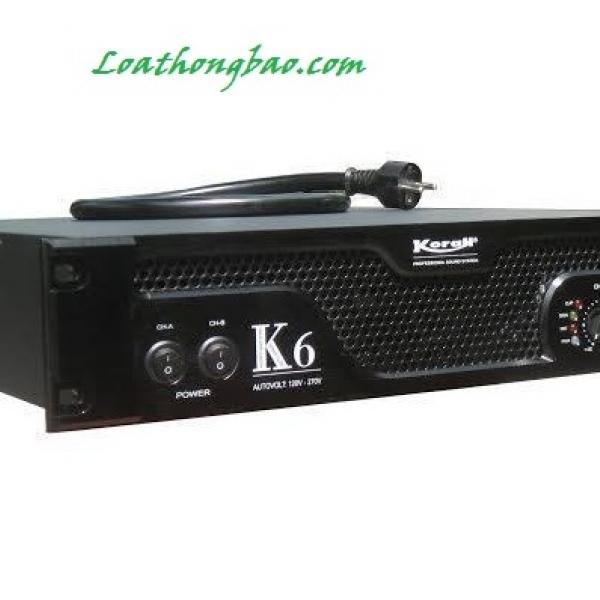 cục đẩy công suất K6 sức mạnh cho âm thanh