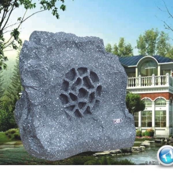 Loa giả đá 1802C - trang trí sân vườn bằng loa giả đá bền đẹp