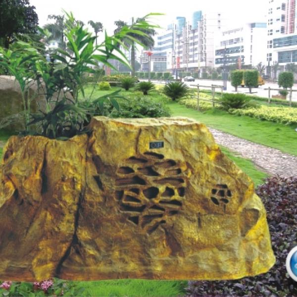 Loa giả đá OBT 1802R trợ giúp đắc lực để trang trí sân vườn