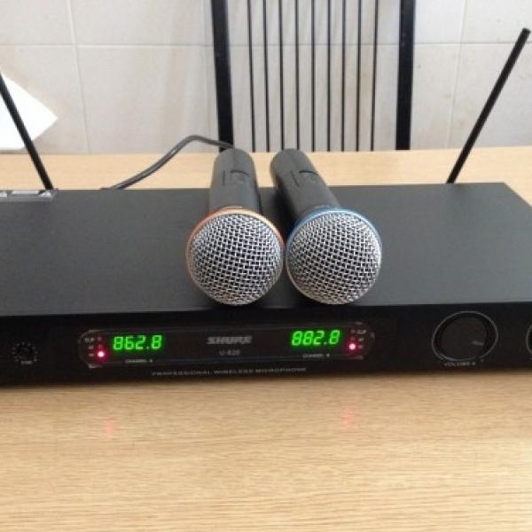 Micro không dây Shure U820 model micro không dây đẳng cấp