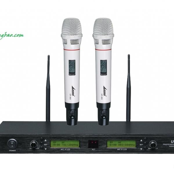 Micro không dây Shure UR800 kiến tạo chất lượng âm thanh