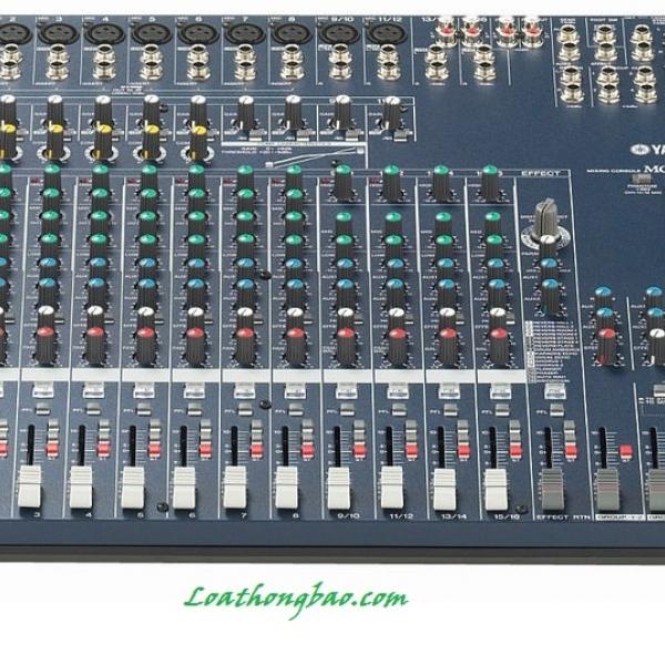 Giới thiệu bàn trộn Mixer MG166CX Yamaha