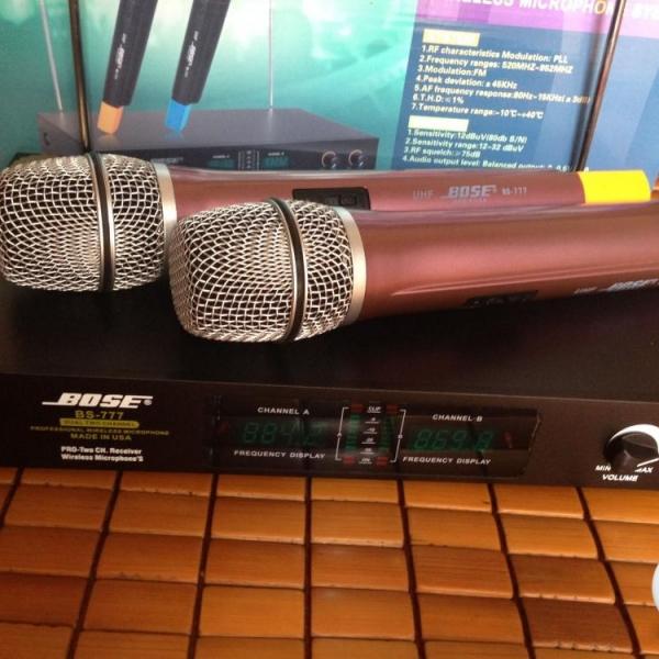 Micro không dây Bose BS777  giá rẻ, âm thanh tốt