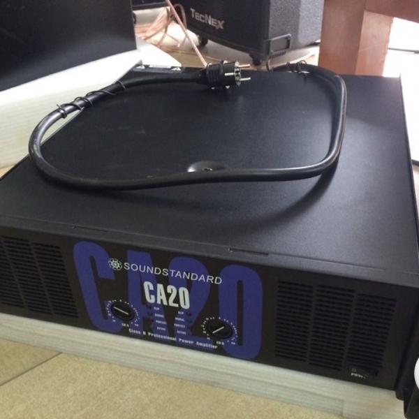 Cục đẩy công suất CA20 sức mạnh đỉnh cao của âm thanh
