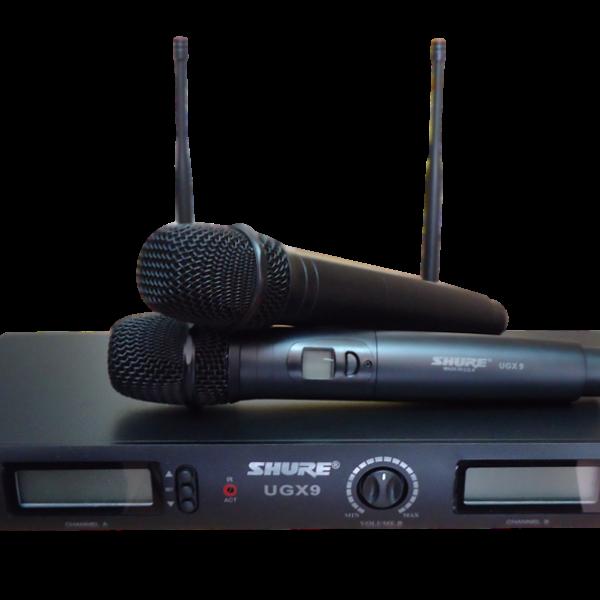 Micro không dây Shure UGX9 nhập khẩu chính hãng tại Mỹ giá tốt