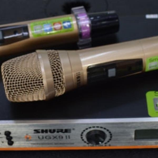 Micro không dây shure UGX9 II giá rẻ, chất lượng đảm bảo nhất