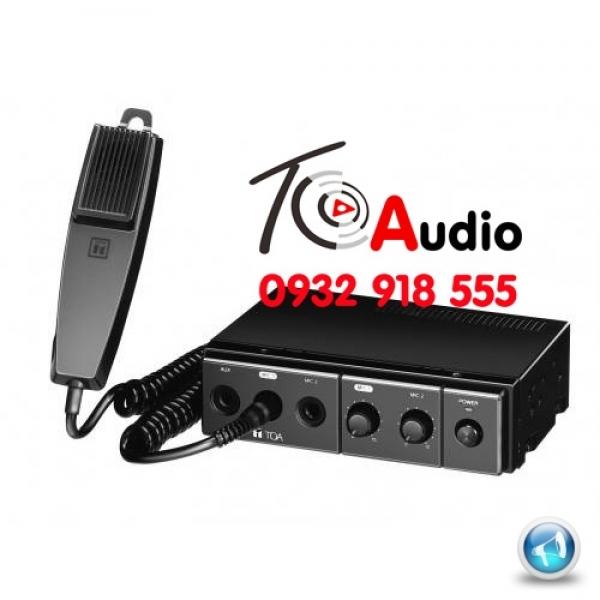 Amply Toa CA 130 dùng cho nghe nhạc và thông báo trên ô tô