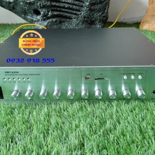 Amply OBT 6150 dòng amply liền mixer công nghệ Đức, công suất 150w