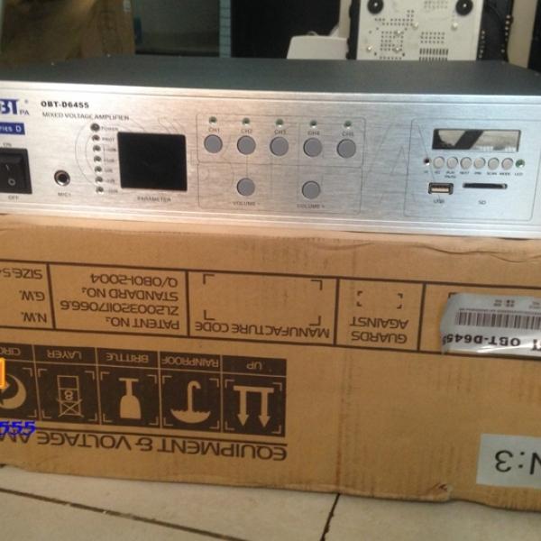 Amply chọn 5 vùng OBT-6455 công suất 450W, giá ưu đãi