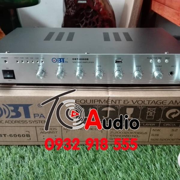 Phân phối Amply OBT 6060B chất lượng tốt, giá rẻ nhất Việt Nam