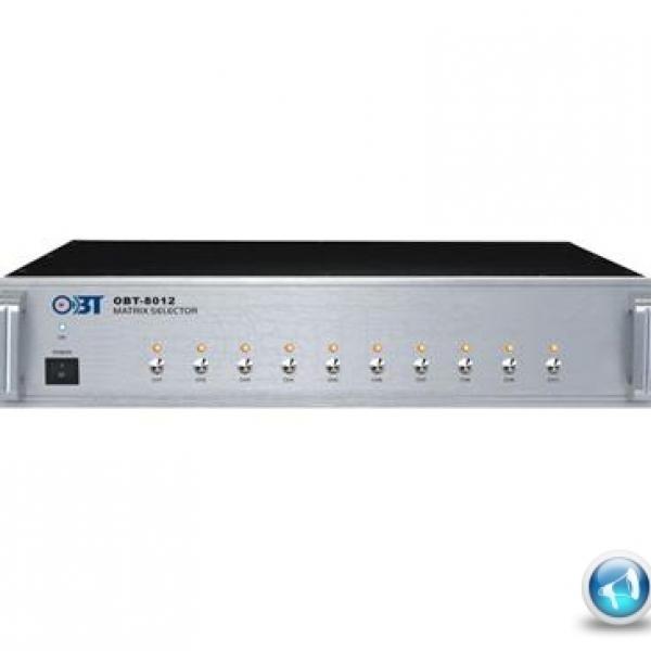 Bộ chọn 10 vùng âm thanh OBT-8012 công nghệ Đức
