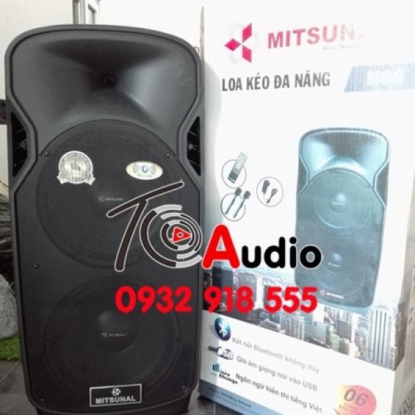 Loa kéo đa năng Mitsunal M66 Hàng Việt Nam, âm thanh chuẩn, giá tốt