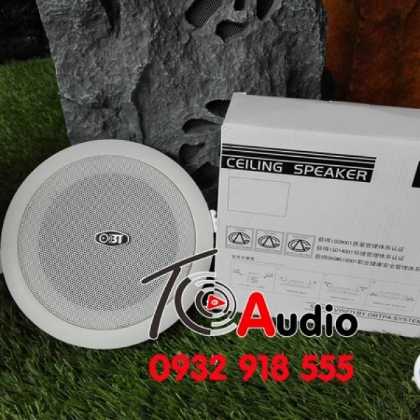 Loa âm trần OBT 608 kiểu dáng đẹp, âm thanh hay, giá thành ưu đãi nhất