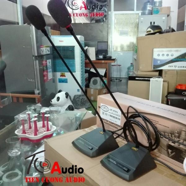 Micro đại biểu APU 8520B micro họp bàn quầy trực tuyến dùng cho đại biểu