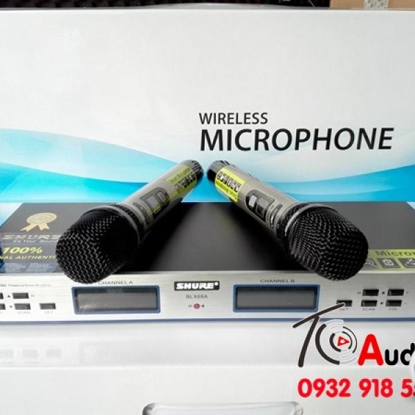 Micro không dây Shure BLX 68A bán chạy nhất thị trường