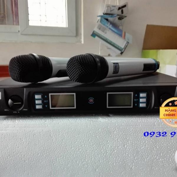 Micro không dây Shure UGX6 II âm thanh hay, bắt âm tốt, độ bền cao
