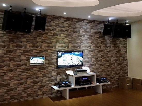 lắp đặt hệ thống âm thanh phòng karaoke